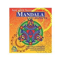 Les Plus Beaux Mandala Pour Enfants A Colorier