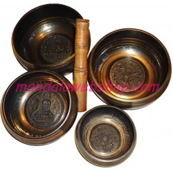 Bol Chantant Tibétain Gravé 10 CM (Tibetan Bowl)