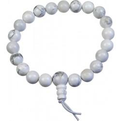 Bracelet mani métal blanc