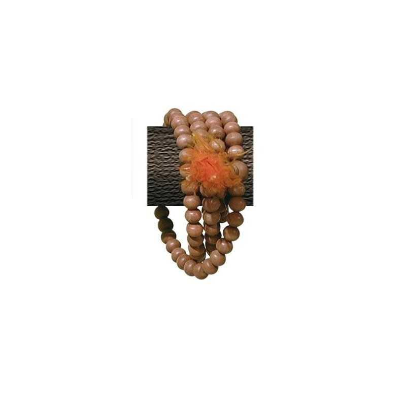 Mala Bois de Santal - 108 Perles - 8 MM (Sandalwood)