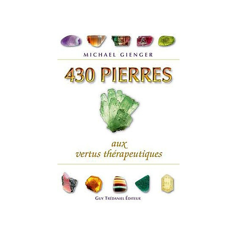 430 Pierres aux Vertus Thérapeutique - Michael Gienger