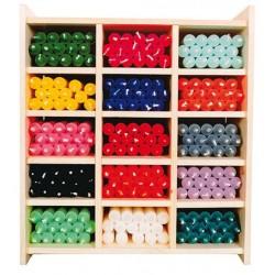 Lot de 12 Bougies Colorées - Longue Durée - 22 cm - Couleurs aux Choix