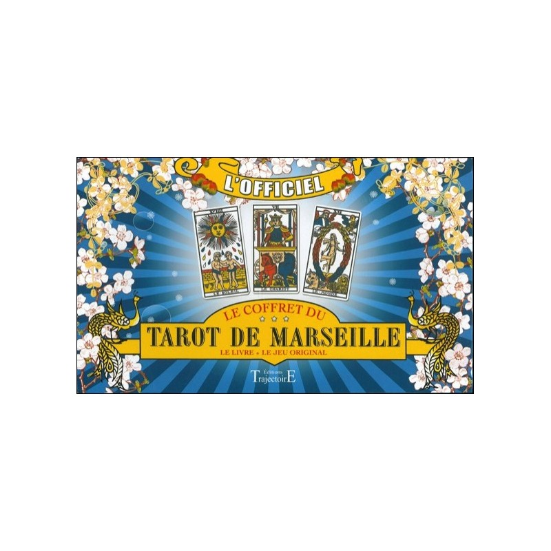 Coffret du Tarot de Marseille - Jeu de Cartes & Livre en Coffret