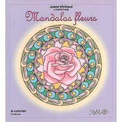 MANDALAS Fleurs - A Colorier