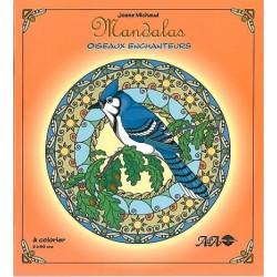 MANDALAS à Colorier - Oiseaux Enchanteurs
