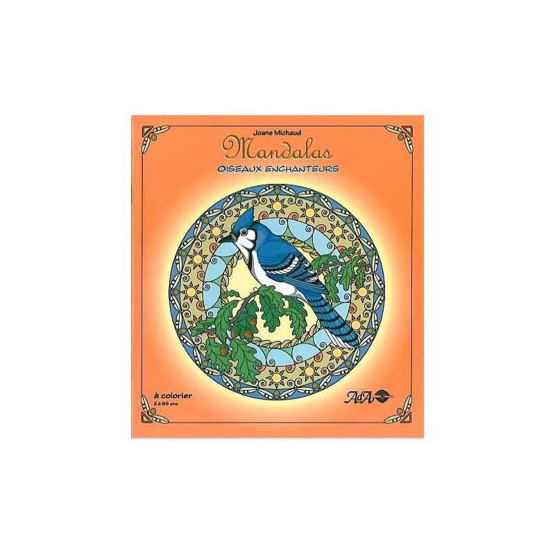 Mandalas A Colorier Oiseaux Enchanteurs
