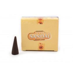 Encens Cône Super Sandal (Santal) - Boite de 12 Cônes