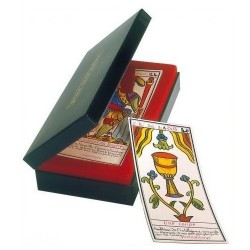 Grand TAROT BELLINE en Coffret Tranche Or