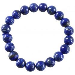 Bracelet Perles Rondes Lapis Lazuli - 10 mm