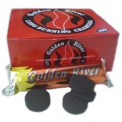 Charbon GOLDEN RIVER x10 Rouleaux PROMO Point Relais