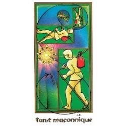 Tarot Maçonnique de Jean Beauchard - 78 cartes & livret (Masonic Tarot Deck)