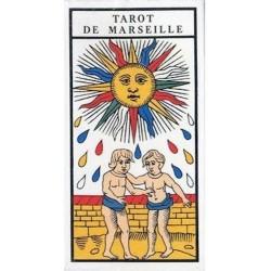 Tarot De MARSEILLE Paul Marteau - Avec livret