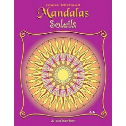 MANDALAS Soleils - Album à colorier - Joane Michaud