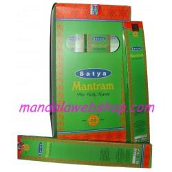 Encens MANTRAM Satya - Boite de 15G