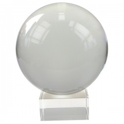 Boule de Cristal 200 mm + Support
