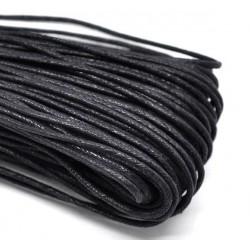 Cordon Noir - Coton Ciré - 1 M