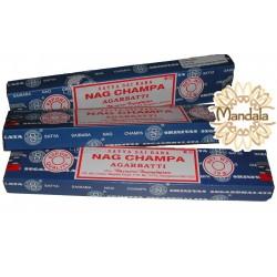 Encens Nag Champa - Boite de 15 Grammes