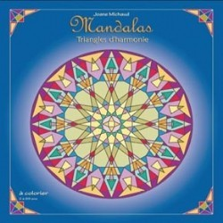 MANDALAS Triangles d'Harmonie - A Colorier