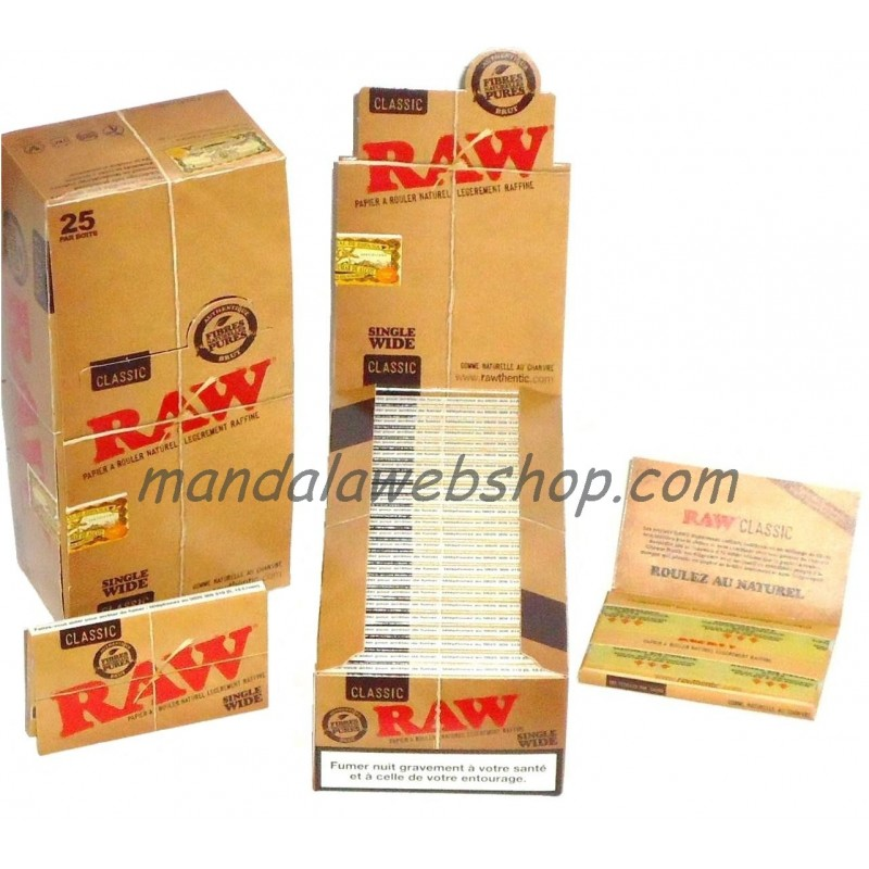 Lot de 50 Carnets PROMO ! RAW Regular