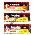 10 Piles Alcalines Plus AA LR06 CAMELION