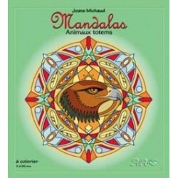 MANDALAS  Animaux Totems J.Michaud