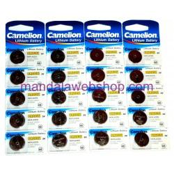 Blister 5 Piles Bouton LITHIUM - CR2032 - 3V - CAMELION