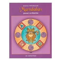 Mandalas Pour Enfants - Album à Colorier - Joane Michaud