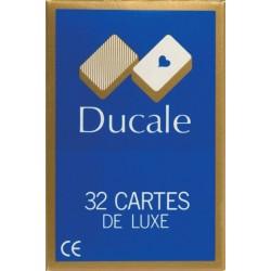 DUCALE Jeu de 32 Cartes De Luxe - France Cartes