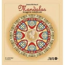 MANDALAS à Colorier - Imagerie Médiévale - Joane Michaud