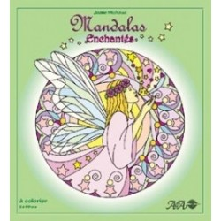 MANDALAS à Colorier Enchantés - Joane Michaud