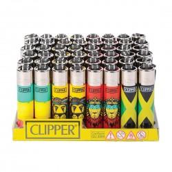 Briquet CLIPPER REGGAE à l'unité