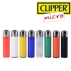 Briquet MICRO CLIPPER Color Classique  à l'unité