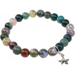 Bracelet Art de la Chance - Agate Multicolore