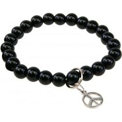 Bracelet Art de la Chance - Onyx Noir
