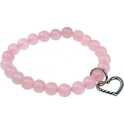 Bracelet Art de la Chance - Quartz Rose