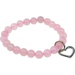 Bracelet Art de la Chance - Quartz Rose