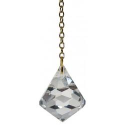 Pendule Diamant Cristal Petit Modèle 25 MM