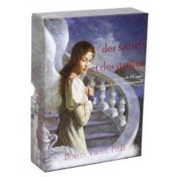 Cartes Divinatoires des Saints & des Anges - Jeu 44 Cartes Avec Guide