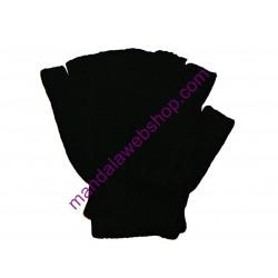 Mitaines Taille Unique Couleur Noire