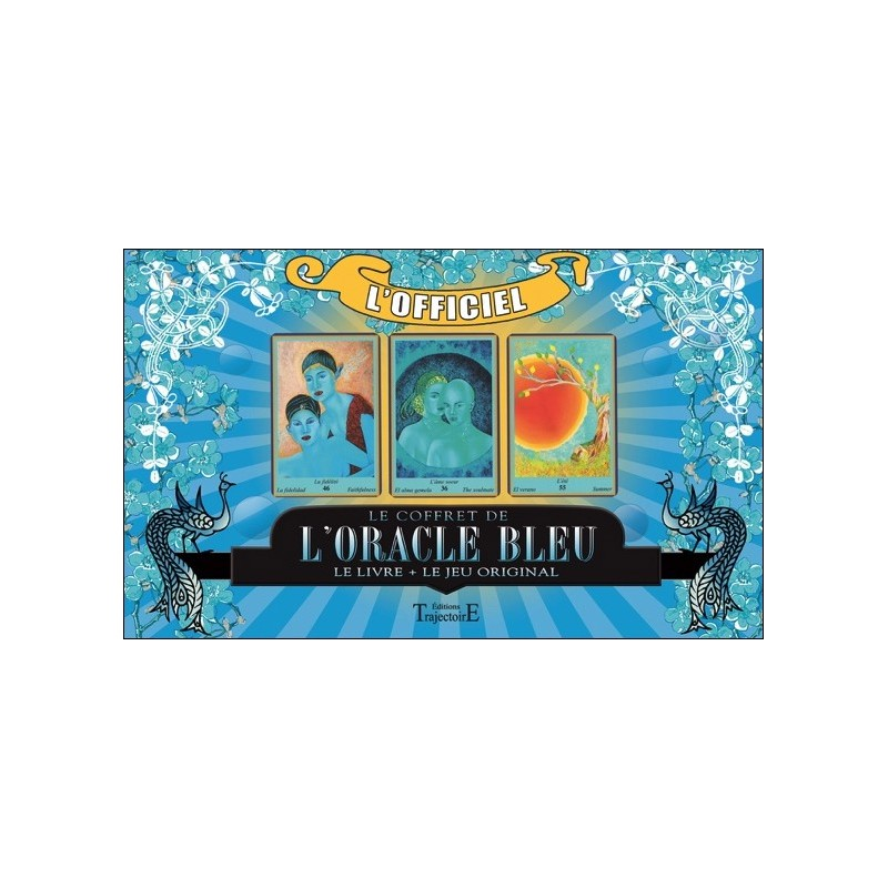 Coffret de L'Oracle BLEU - Jeu de Cartes & Livre