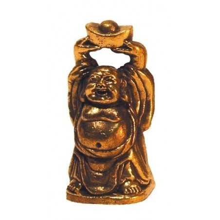Mini Statue Bouddha RIEUR Laiton 4 cm (Buddha)