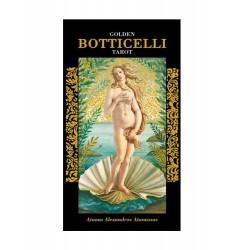 Tarot Dore De Botticelli - 78 Cartes + Livret Explicatif