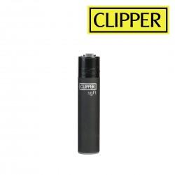 Briquet CLIPPER ALL BLACK SOFT à l'unité