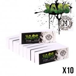 Carnet JASS TIPS  Filtres Carton  Largeur au choix Lot de 10