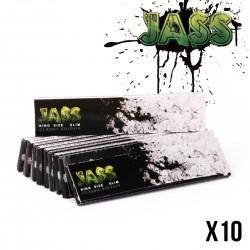 JASS SLIM - Lot de 10 Carnets de 33 Feuilles