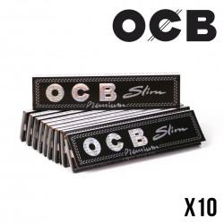 OCB SLIM - Lot de 10 Carnets de 32 Feuilles