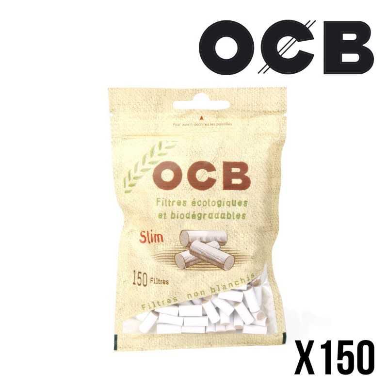 OCB Filtres SLIM ECO BIO 6MM - Sachet de 150