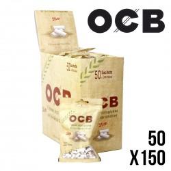 OCB Filtres SLIM ECO BIO 6MM - Boite 50 Sachets