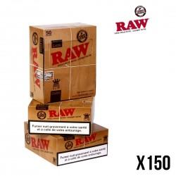 RAW  SLIM KS - Lot de 150 Carnets (3 Boites)