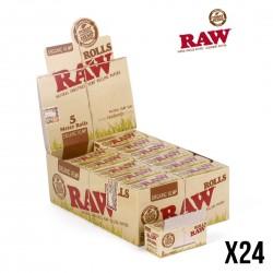 RAW Rolls ORGANIC Chanvre Box de 24 Rouleaux PROMO